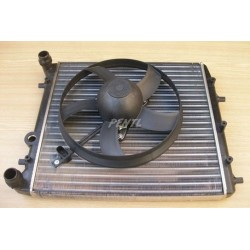 chladič + ventilátor FAB...
